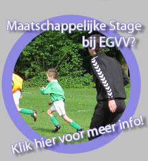 Maatschappelijke stage bij EGVV